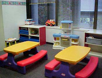 virtual tour - children's playroom: sacramento superior court