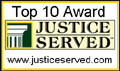 Justice Served - Top Ten Websites